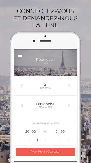 Restaurant : Apple et son appli mobile sneat