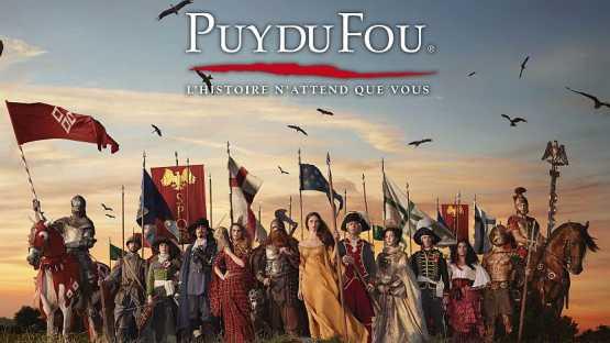 5ème récompense mondiale pour le Puy du Fou