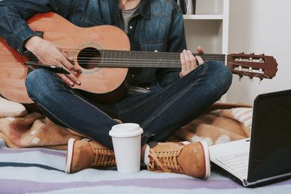 Mes vacances avec une guitare